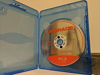Upgrade (Blu-ray, 2018) Disc and Case Only, Good Condition