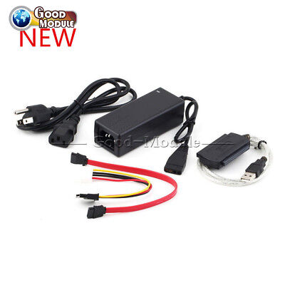 SATA/PATA/IDE to USB 2.0 Adapter Converter Cable for 2.5/3.5 Inch Hard Drive IN