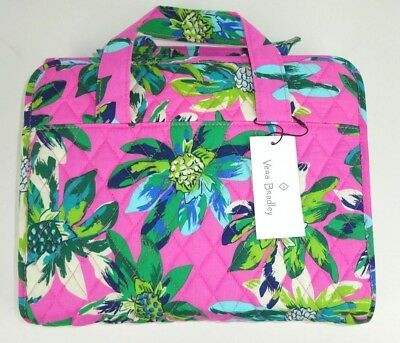 abd7b2d17e NWT Vera Bradley Travel Cosmetic Hanging Organizer Tropical Paradise Pink