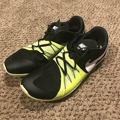 low priced 2d6e7 e88be Nike Zoom Forever XC 5 Black Volt - Victory XC Track Shoes 904723-017