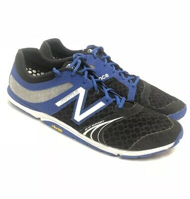 selected material new product official price NEW BALANCE MT20TB3 Minimus Vibram Barefoot Blue Mens Running Shoes US 15 2E