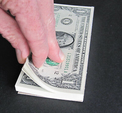 100 One Dollar Bills in a PAD! New, Unc. $1 US BEP Currency Notepad ~~ FUN GIFT