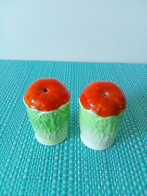 Oranges wrapped in leaves Salt And Pepper Shakers!