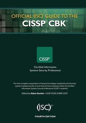 Official ISC2 Guide to CISSP CBK - Fourth Edition (Hardcover!)