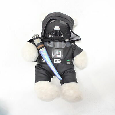 Build-a-Bear Star Wars Darth Vader Teddy Bear Toy with Lightsabre and Cape #458