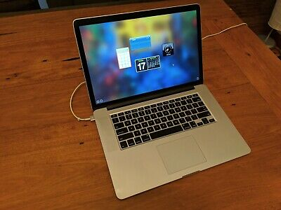 Apple MacBook Pro 15 Retina Laptop 2015 Core I7 2.5ghz 16gb 512gb