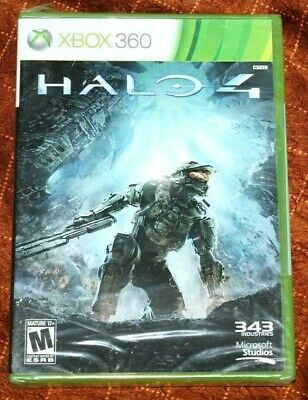 Awesome Brand New Factory Sealed HALO 4 Microsoft Xbox 360 Video Game Console!