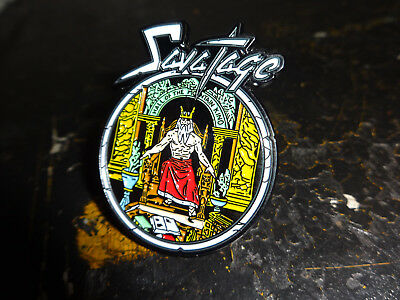 Savatage Metal Badge Pin Jacke Kutte Heavy Metal Metal Church
