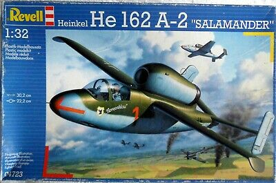 REVELL 1/32 HEINKEL He.162A-2, Unmade kit.
