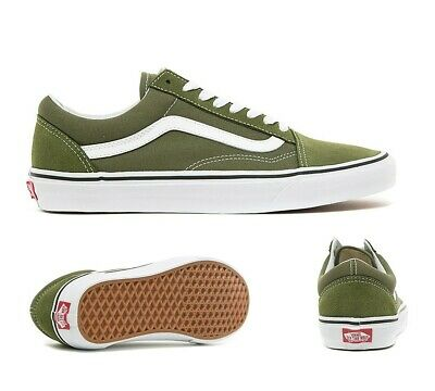 c71f79e8dce4 Mens Vans Old Skool Winter Moss True White Trainers (SF33) RRP £56.99