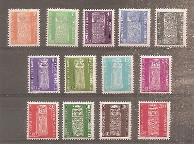 Timbre Nouvelle Caledonie Frankreich Kolonie 1959 Taxe N°1/13 Neuf** Mnh