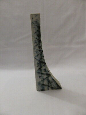 Carn Pottery Curved Vase - 10 Inch