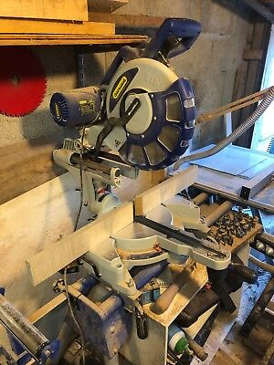 "Charnwood 12"" 305Db P Double Bevel Sliding Mitre Saw + W215 Saw Stand Package"