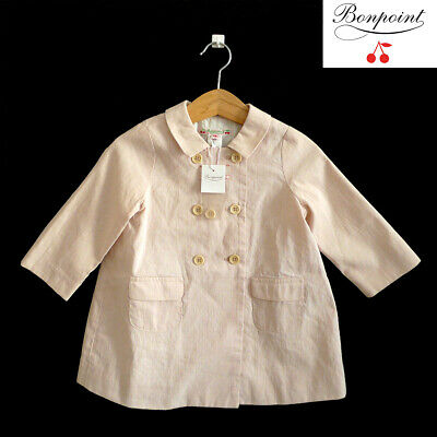 ★BONPOINT★NEW VESTE/SPRING BABY'S COAT/JACKET★18M★rose