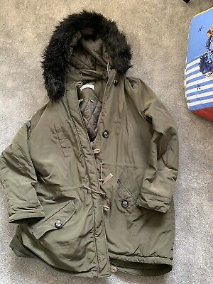 maternity winter coat size 16