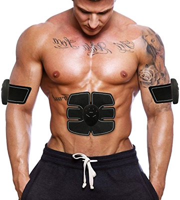 Abs Muscle Simulator EMS Training Abdominal Body Exerciser Ultimate Fat Burner