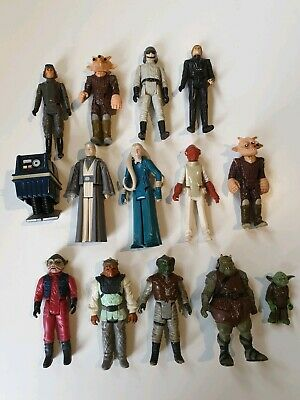 Collection of Original Vintage Star Wars Figures 80s