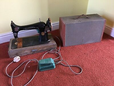 antique singer sewing machine In Need If Refurbishment