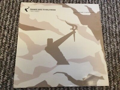 "Frankie Goes To Hollywood ‎– Two Tribes 12"" Trance Vinyl 2000"