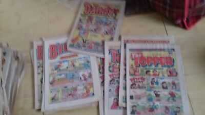 The Topper/The Beezer and 1 copy of The Dandy 1982/1983/collectable