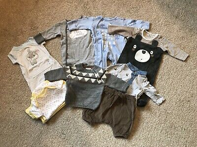 Baby Boys Up To 1 Month Bundle Mainly Next