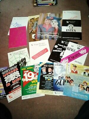Portsmouth King's Theatre Programs And Flyers