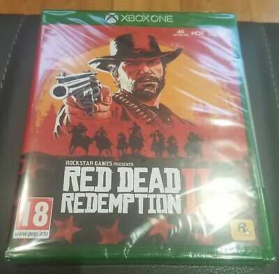 Red Dead Redemption 2 Xbox One 1 NEW & SEALED