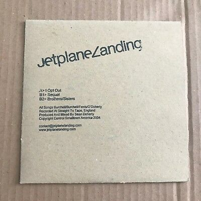 """Jetplane Landing - I Opt Out - 7"""" - Ltd. To 500 - UNPLAYED - Discount For 2+"""