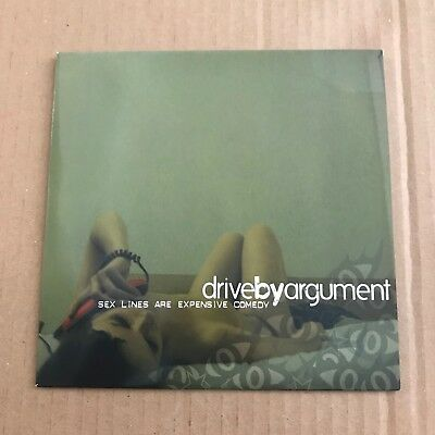 """Drive-By Argument - Sex Lines Are Expensive Comedy - 7"""" - UNPLAYED - Discount 2+"""