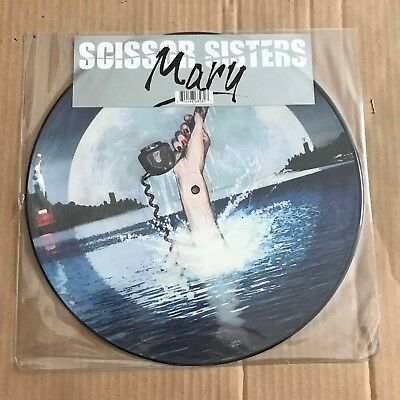 """Scissor Sisters - Mary - 12"""" Picture Disc - Discount For 2+"""