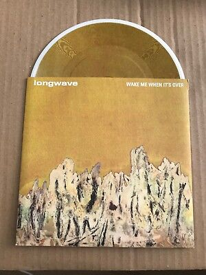 """Longwave - Wake Me When It's Over - 7"""" Picture Disc - UNPLAYED - Discount For 2+"""