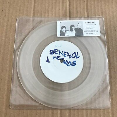 """Lorraine - I Feel It/Saved - Clear 7"""" Single - UNPLAYED - Discount For 2+"""
