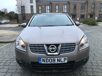 2008  Nissan Qashqai 1.5 Diesel,reverse Camera, Blue Tooth, Tv Dvd,new Mot,