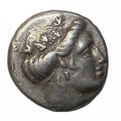 Ancient Greece Histiaia Euboia 3rd-2nd Centuries BC AR Silver Tetrobol