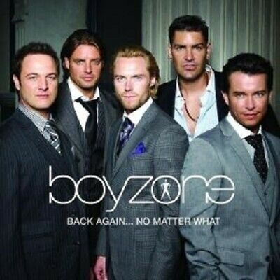 "Boyzone ""back Again...the Greatest Hits"" Cd New"