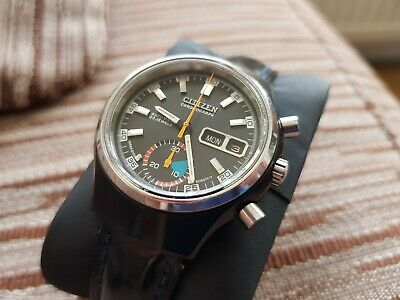 Vintage chronograph Citizen Automatic Ref 4-900031 67-9577 MINT condition!
