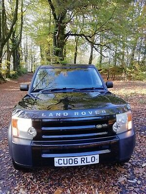 landrover discovery 3 2.7 tdv6 6spd manual rare sought after model on springs