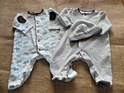 fd274bf1dd3c BABY BOY 3 Months Sleepers PJs with Feet - Little Me by Carter s - 2 ...