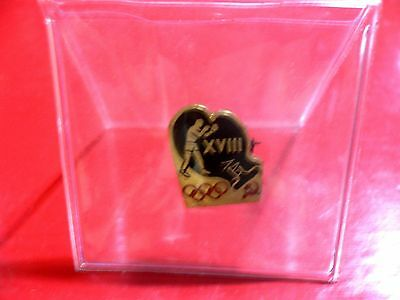 1964 Olympic Games Tokyo Original USSR CCCP RUSSIA Collectible Boxing Pin RARE!!