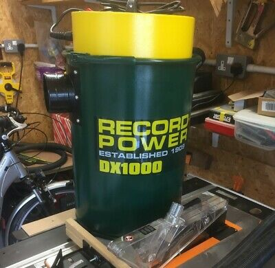 DX1000 Dust Extractor RSDE2 Woodworking Record Wheel Kit for Record RSDE1