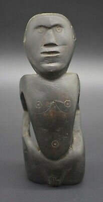 African wooden Tribal female figurine C. 19th century AD