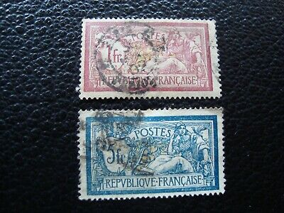 FRANCE - stamp yvert/tellier n° 121 123 cancelled (CYN19)