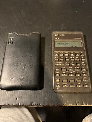 HP 10B Business, Financial, Scientific, Calculator with CASE Hewlett Packard