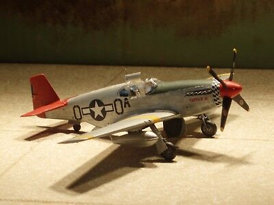 1/72nd scale  P-51C  Mustang  fighter      Ready built for display