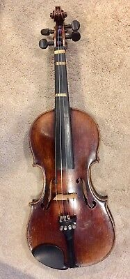 Violin Copy Of Josef Guarnerius Made In Germany late 19th early 20th c.