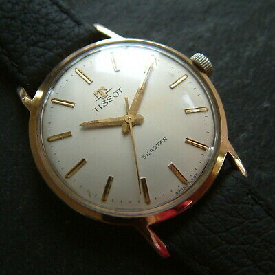Vintage Classic 1961 Gold Plated (Omega) Tissot Seastar Wristwatch - Serviced