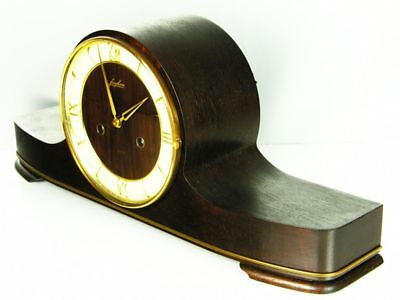 Later Art Deco Design Chiming Mantel Clock From  Junghans  50 ´s