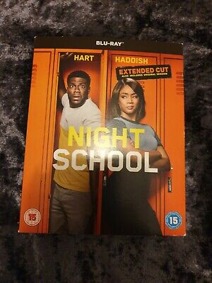 Night School Blu-ray DVD With Extended Cut