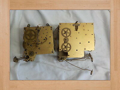 vintage clock movements smiths and haller brass parts or repair