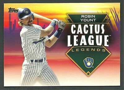 2019 Topps Series 1 Cactus League Robin Yount #CLL-29 - Brewers